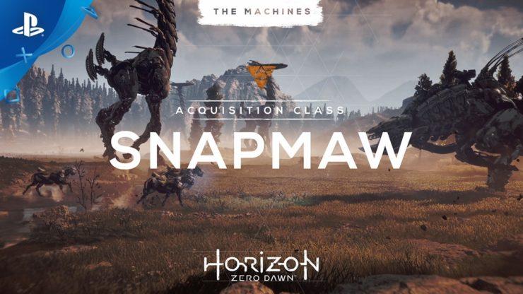『Hozion Zero Dawn』機械獣2体を紹介するトレーラーを公開