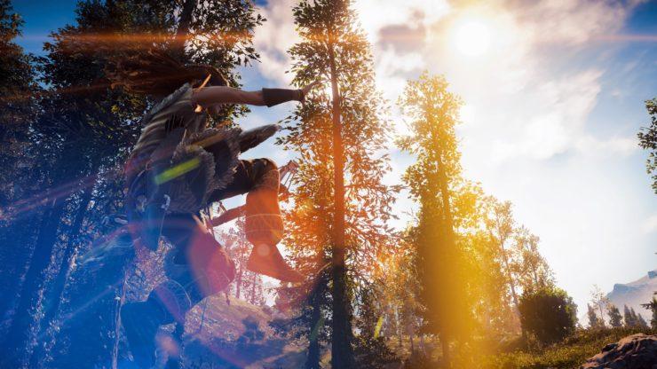 『Horizon Zero Dawn』戦闘も進まない!ボタン連打必須の圧倒的映像美が楽しめるフォトモード